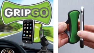 Drive safe with the GripGo phone mount